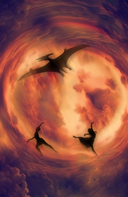 dancers and the pterodactyl